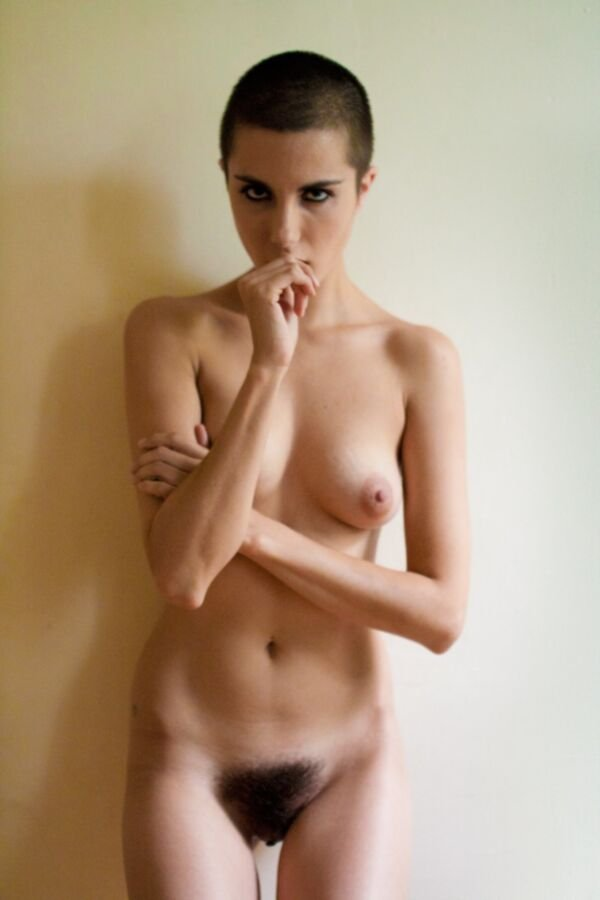 Short naked girl
