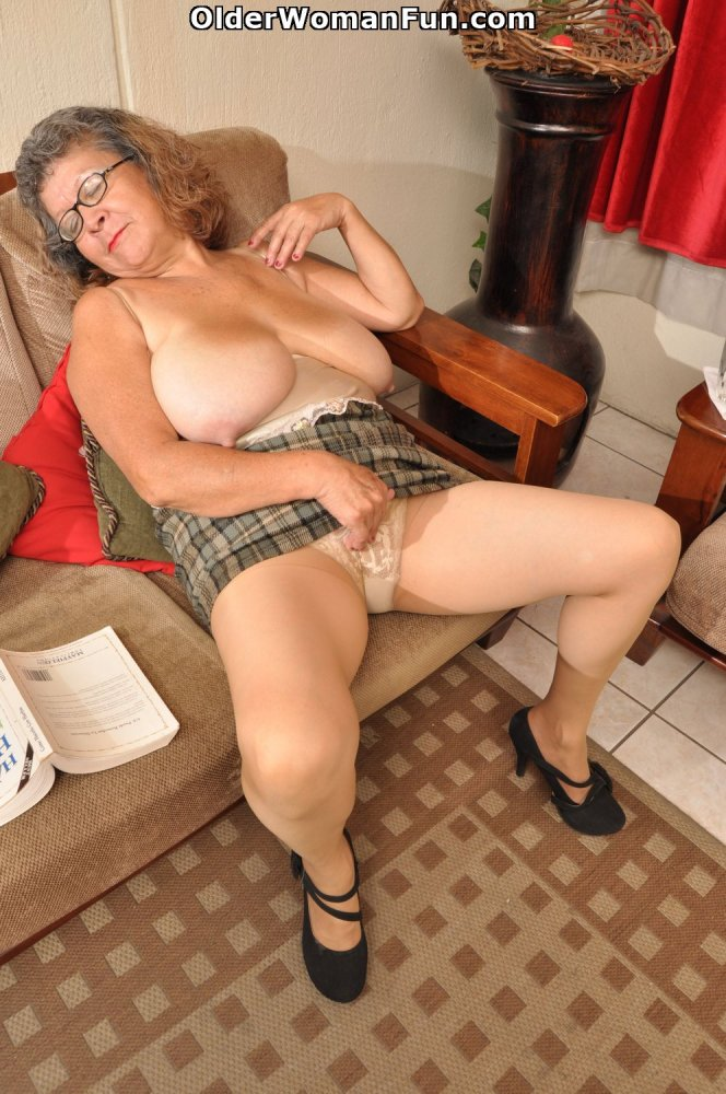 60year old wife comes home after fucking younger man - 1 part 3