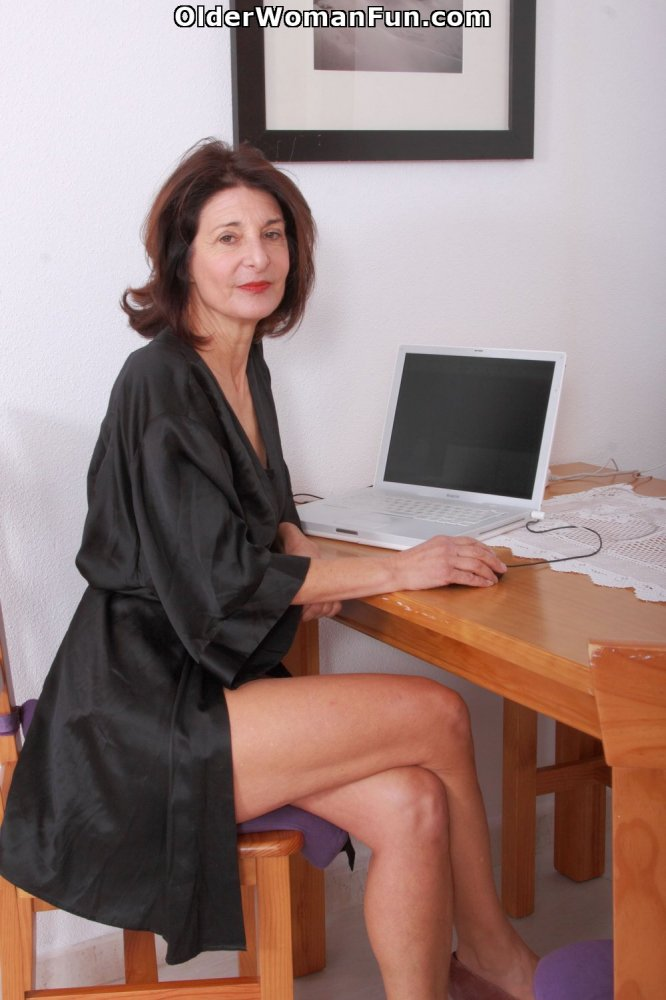 woman older Emanuelle hairy