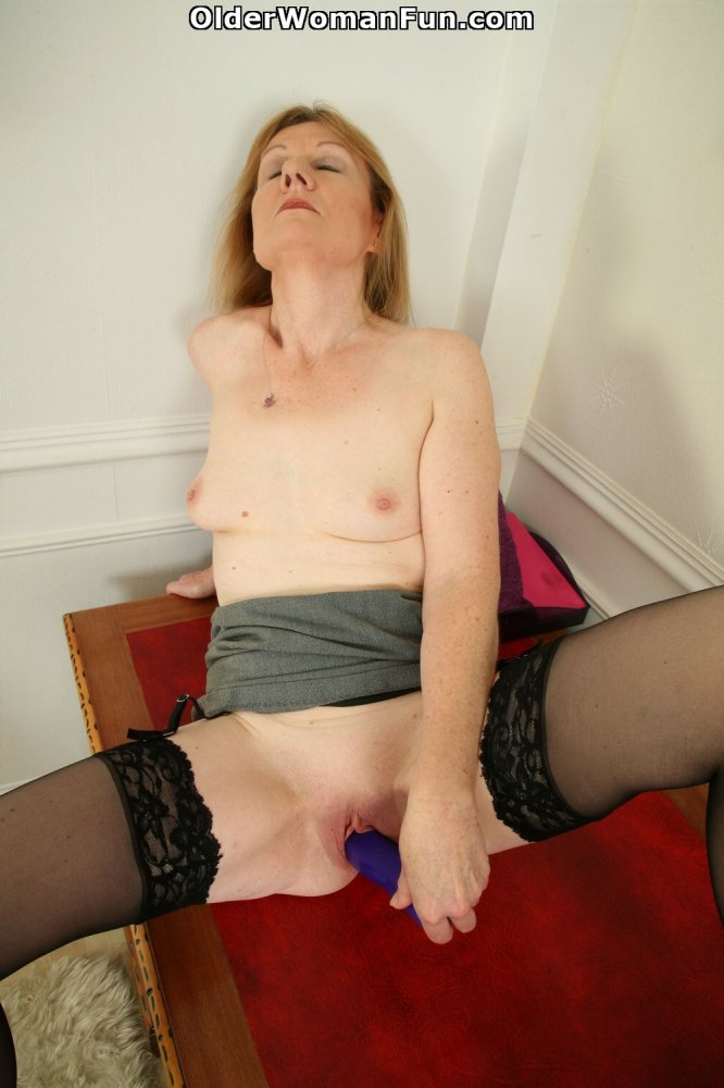 British milf clare cream strips off and enjoys her vibrator - 2 part 8