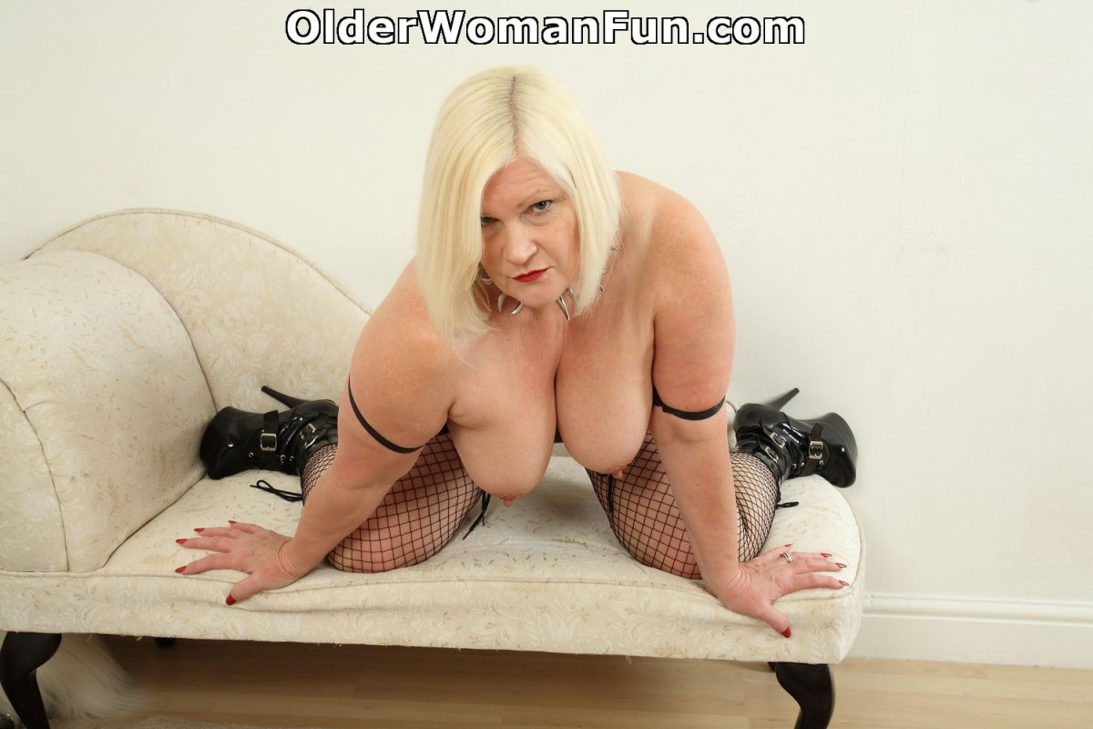 British granny lacey starr hammered by two co 2