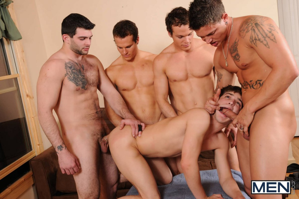 Man sex group 3