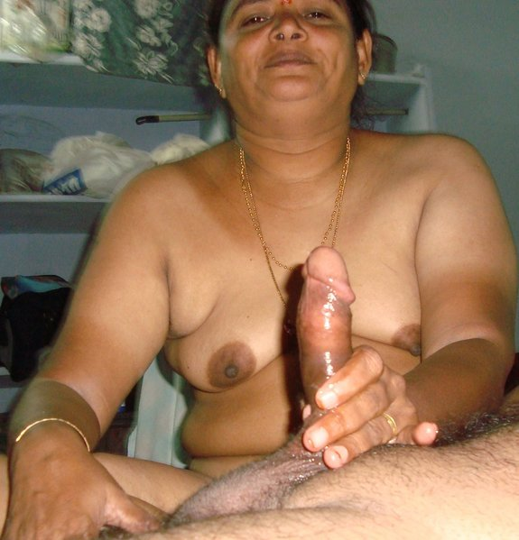 Desi old women young boy porn