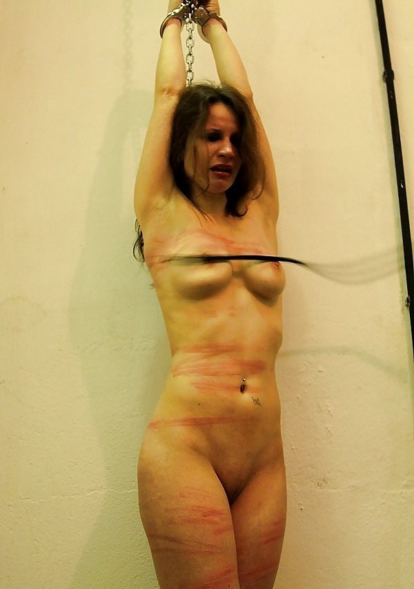 Nude women tied whipped girls