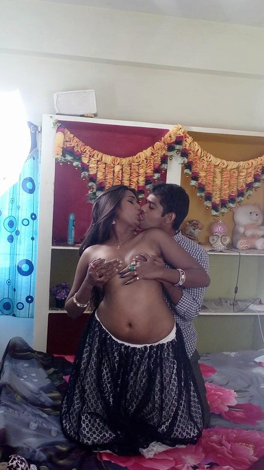 Desi young couple kiss and romance hq images