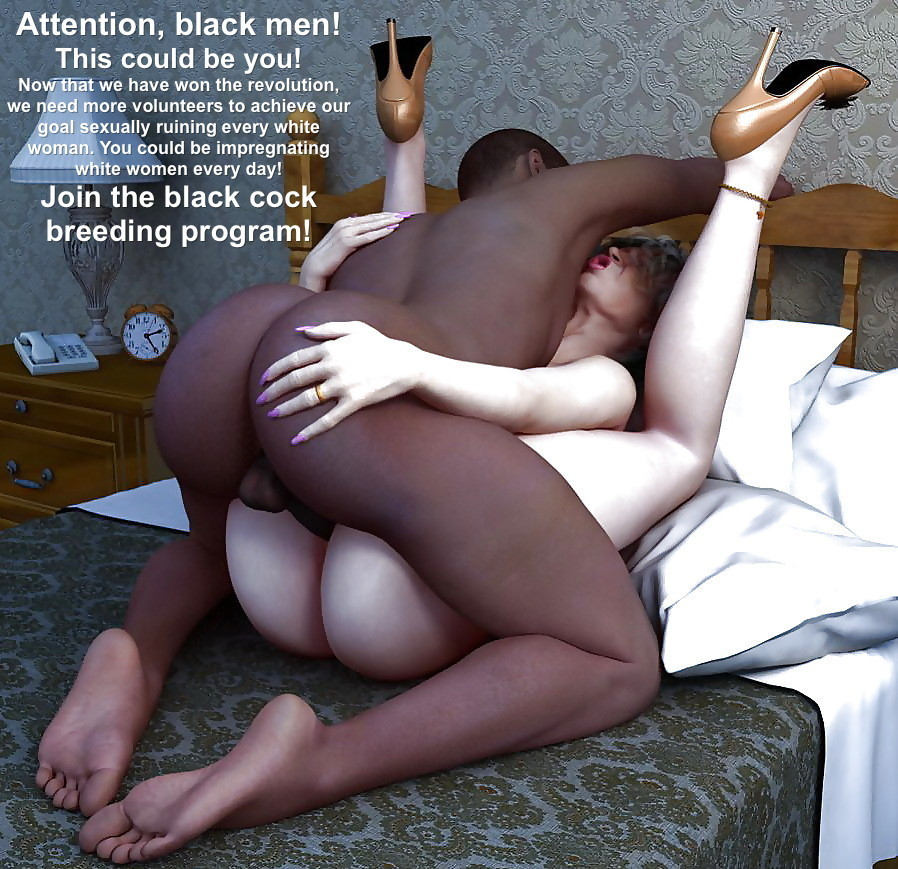 Black men fucking white women in