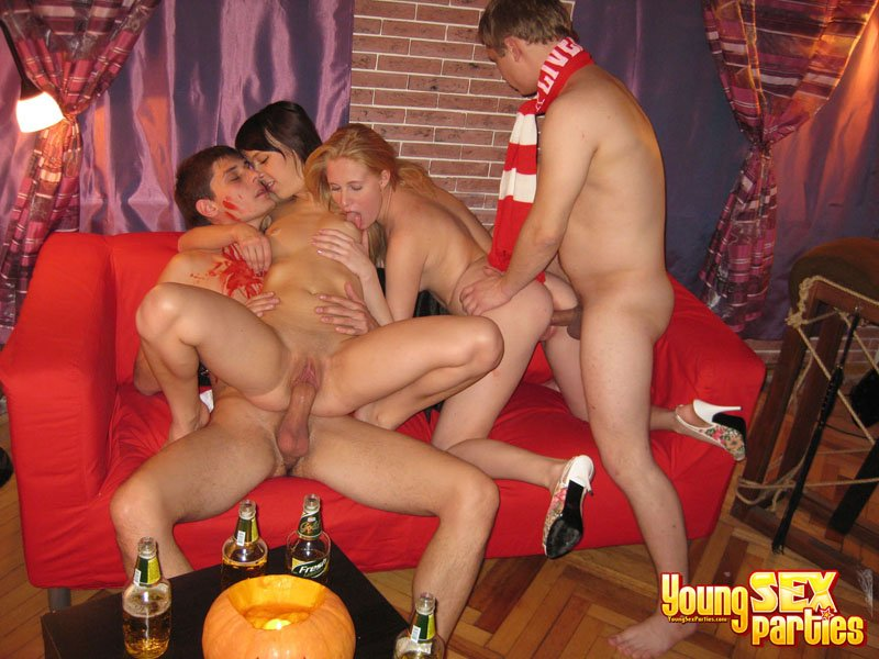 halloween sex party Amateur