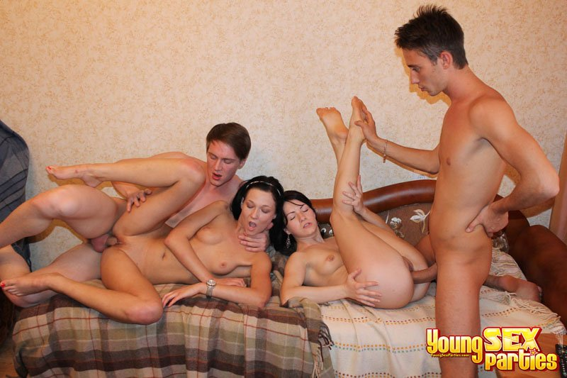 Russian young sex party 10