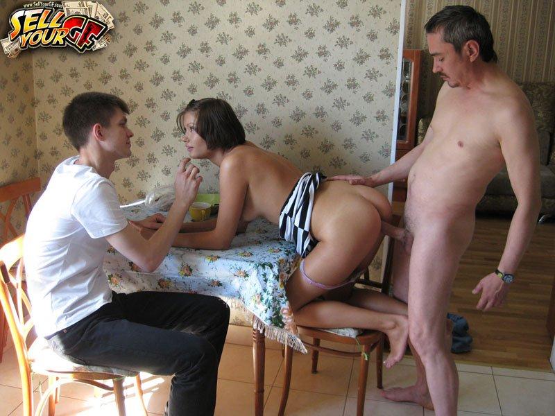 жена с мужем пригласили любовника и трахнули его сначала докажите