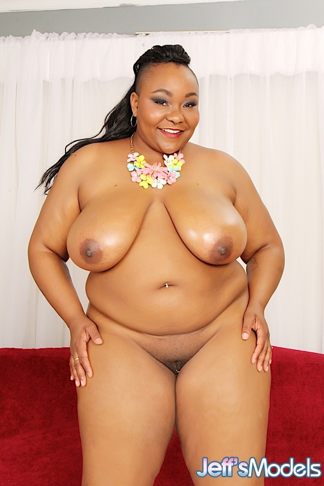 negro girl nude with white