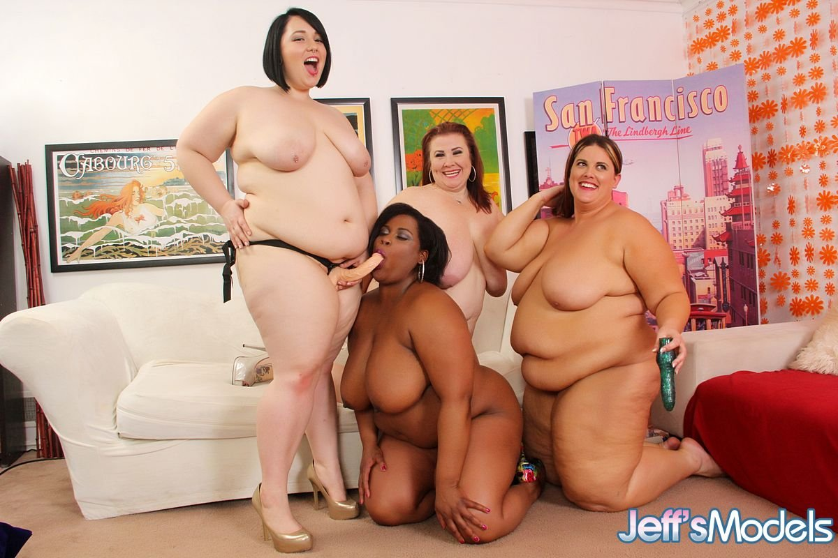 Big Ass Interracial Orgy