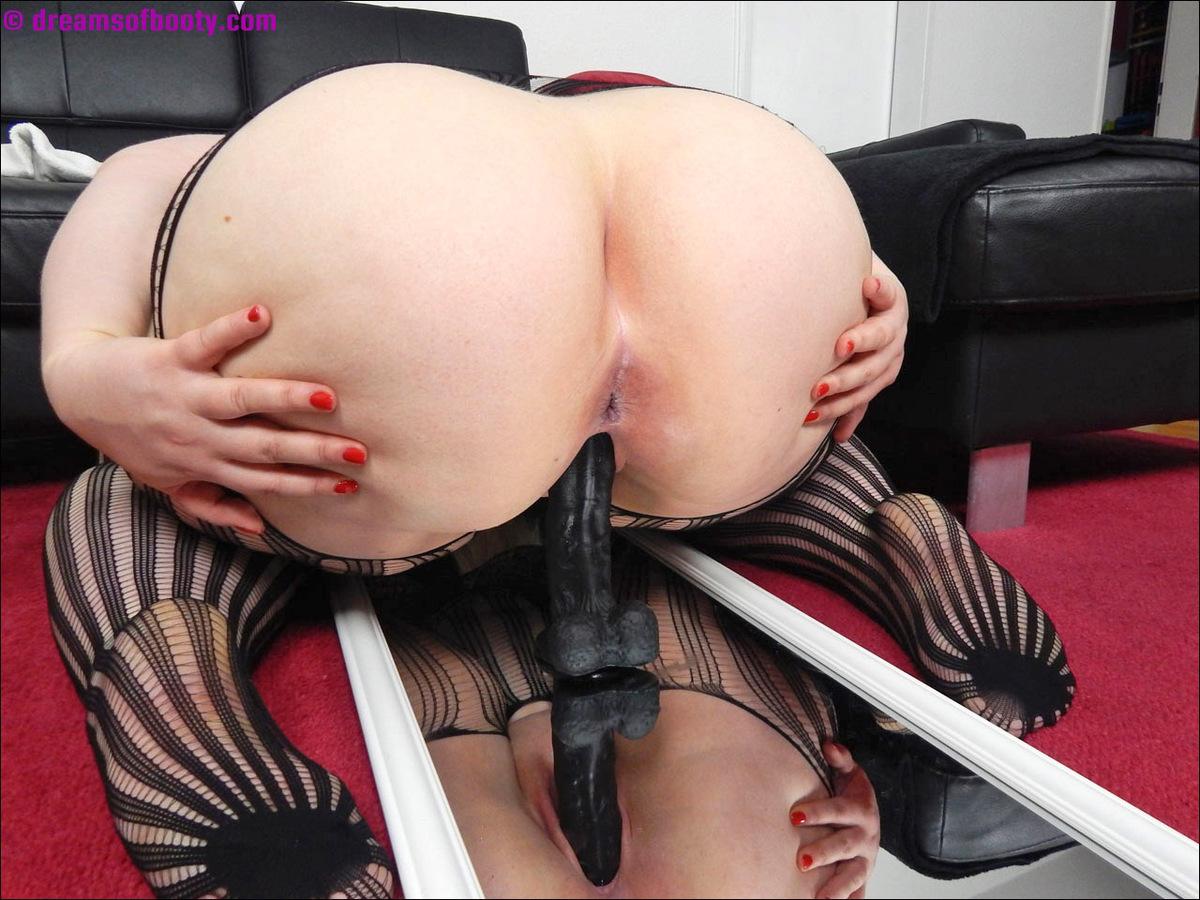 Bigbutt Blonde Victoria Rides The Black Dong New Picset -2199
