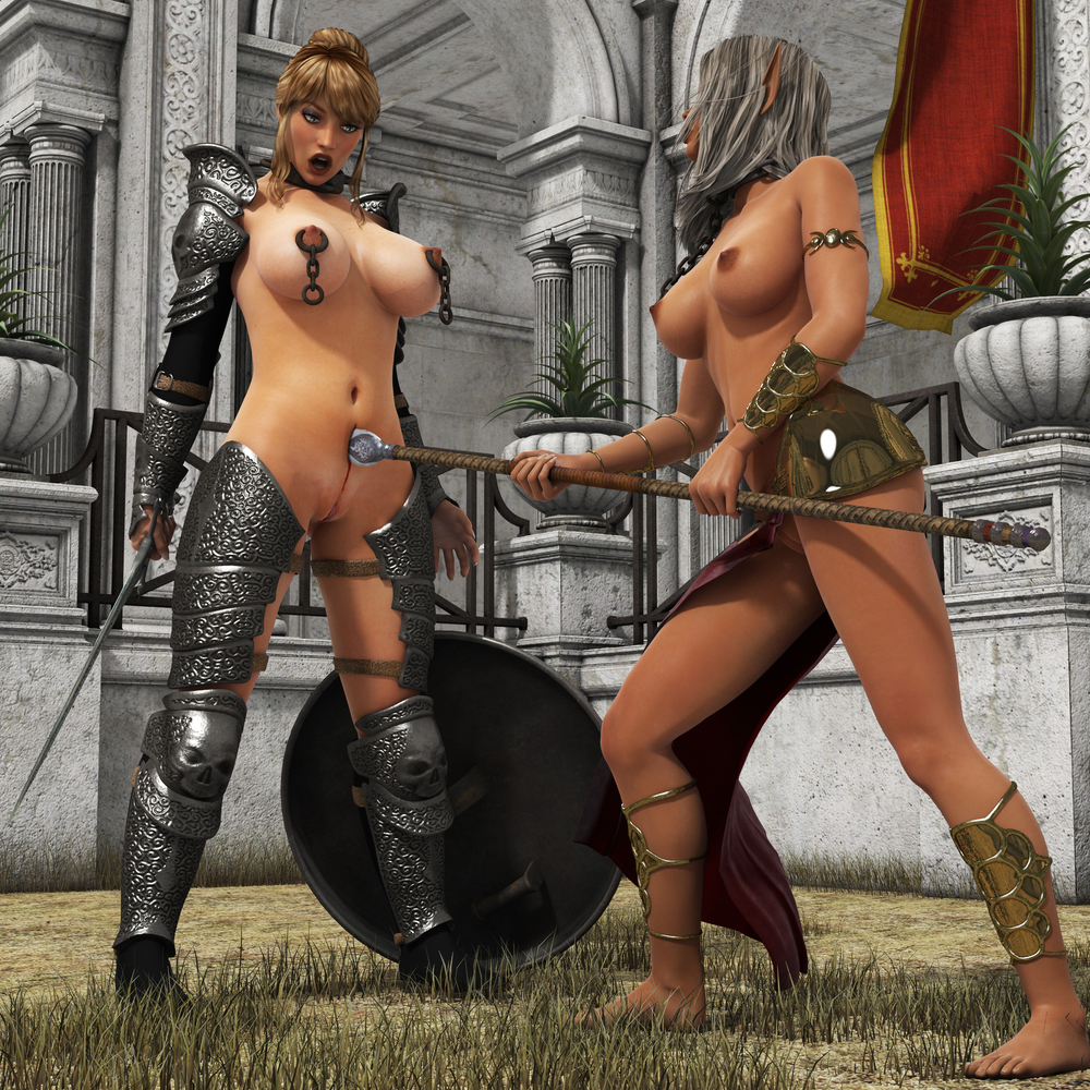 Fantasy nude warrior female captured nude wifes