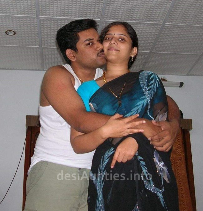 aunty photo Saree fucking