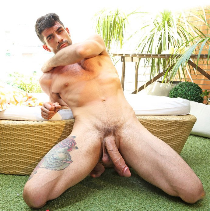 Naked men with large juicy dick 15