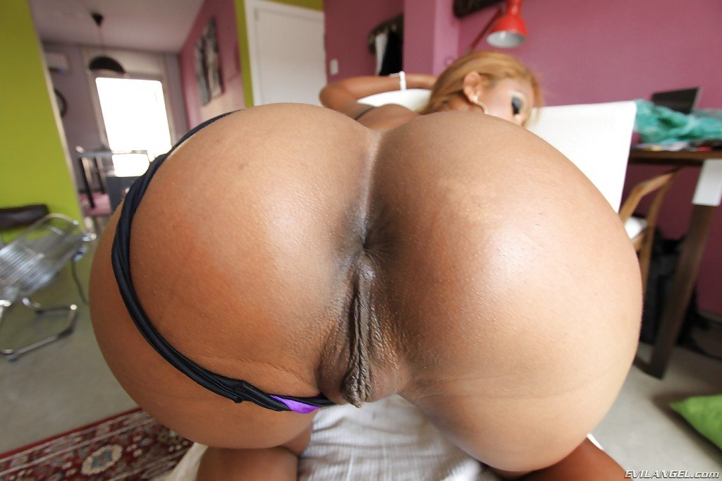 Big Black Ass Gets Fucked Hard