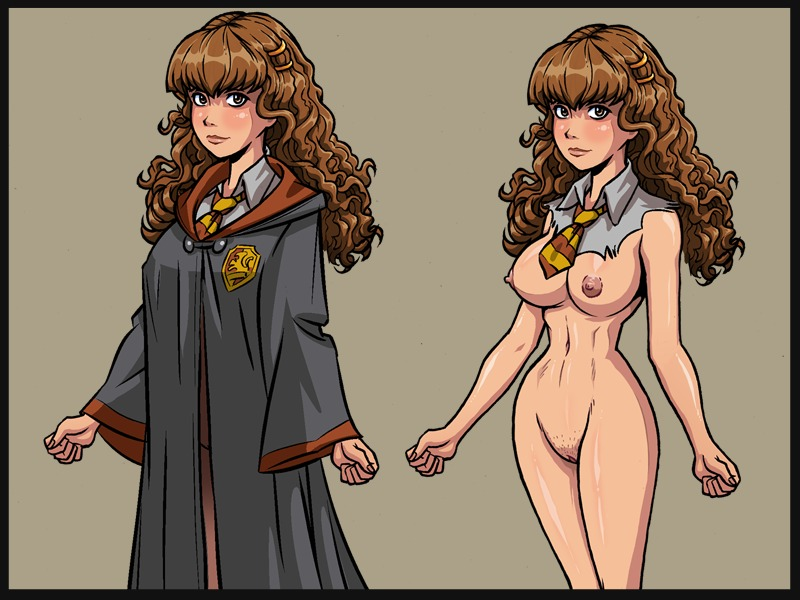 Illustrated xxx harry potter