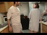 Picture Brother and sister blowjob in the kitchen