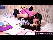 Picture Hairy lesbian cuties fuck during lesson of F...