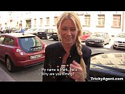 Picture Tricky Agent - Modest blondy turns to be rea...