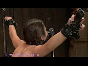 Picture Pretty babe immobilized in metal devices