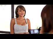 Picture Nubiles Casting - Busty black babe tittie-fu...