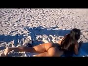 Picture Morena pelada na praia