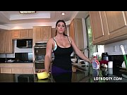 Picture Big booty brunette busty maid Alison Tyler g...