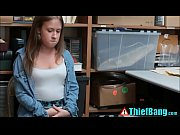 Picture Nervous Young Girl 18+ Thief Brooke Bliss Ba...