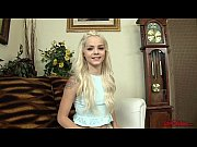 Picture Young Girl 18+ Elsa Jean Cum on Hand