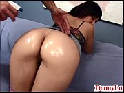 Picture Donny Long gives sneaky half creampie and co...