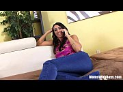 Picture Horny MILF Raven Black Sticking A BBC Into H...