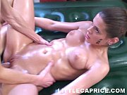 Picture Little Caprice gives thai massage and gets l...