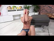Picture Mistica gets horny during solo pissing scene