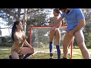 Picture Marvellous threesome with two sporty 20y-Gir...