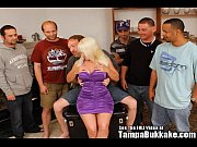 Picture Horny Blonde MILF Slag Gang Bang Bukkake