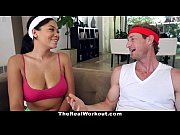 Picture TheRealWorkout - Busty Ebony Fucked By The F...