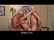 Picture Hot old young threesome fuck