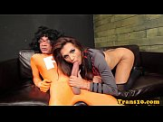 Picture Glamcore tranny thanks superhero with her as