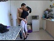 Picture Ma femme surprise a baiser dans sa cuisine