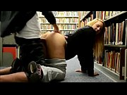 Picture Amateur couple having sex in the library