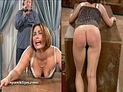 Picture Upset bruntte is taken a serious spanking
