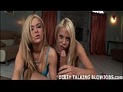 Picture Two blonde sluts taking turns sucking your c...