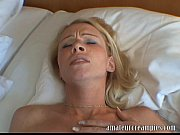 Picture Hot blonde gets a deep risky creampie
