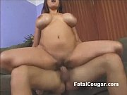 Picture Huge titted older woman rides guys dick and...