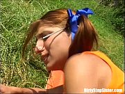 Picture Outdoor Sex Blast With Nerdy Stepsister