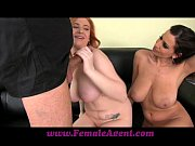 Picture FemaleAgent Curvaceous redhead in first time...