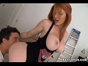Picture Redhead with Great Tits - Lilith Lust