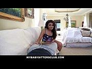Picture MyBabySittersClub - Hot Babysitter Rides Her...