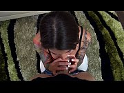 Picture Felicity Feline sloppy and gagging blowjob d...